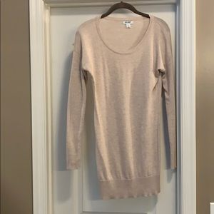 Old Navy Heather brown Tunic sweater
